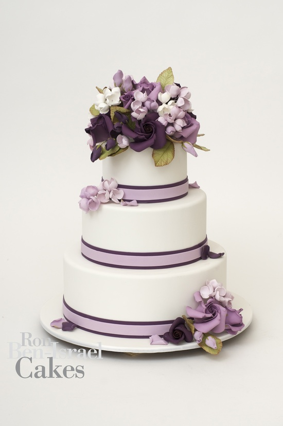 photo of wedding-cake-inspiration-Ron-Ben-Isreal-wedding-cakes-lilac-grape-purple