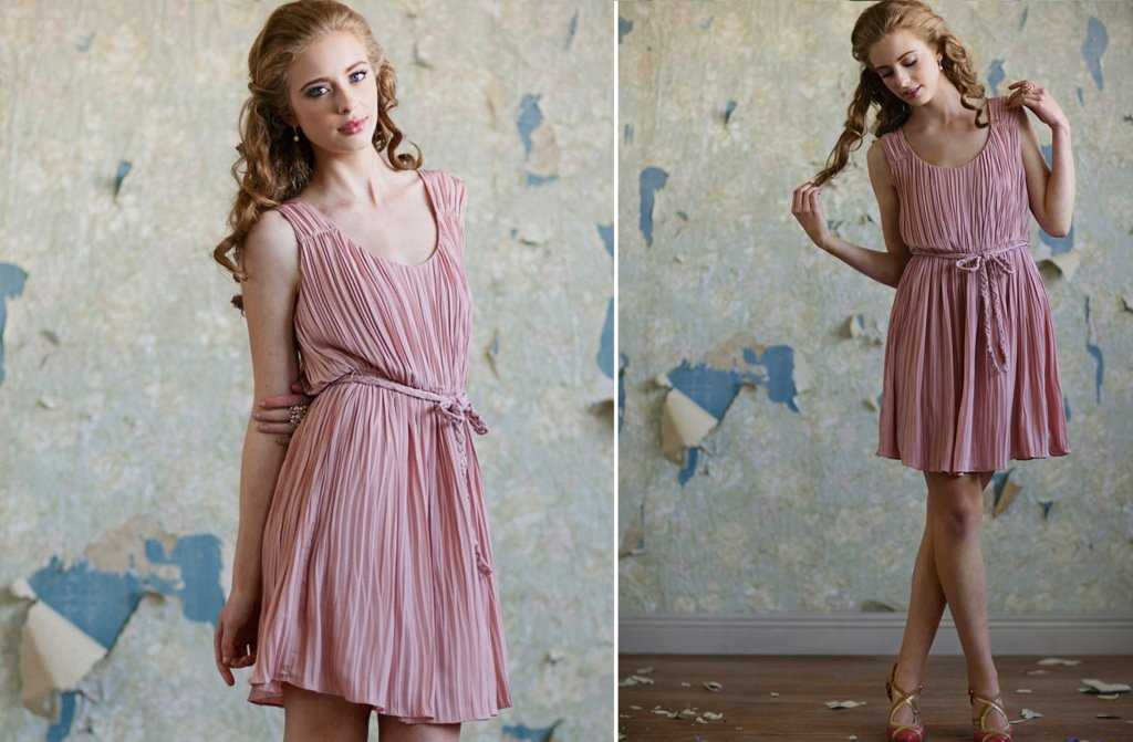 Ruche-bridesmaids-dresses-afforadable-stylish-bridal-party-attire-4.full