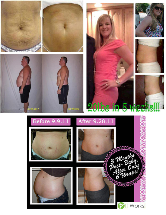 photo of It Works Ultimate Body Wrap