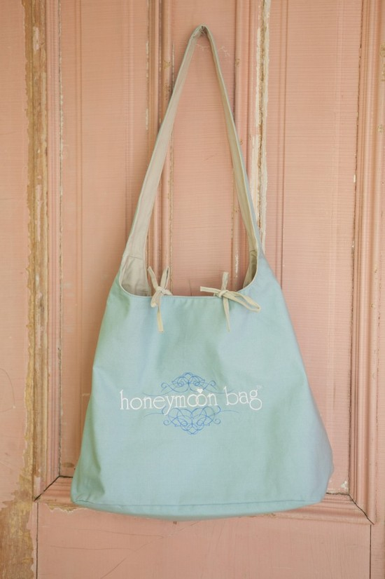 photo of honeymoon bag
