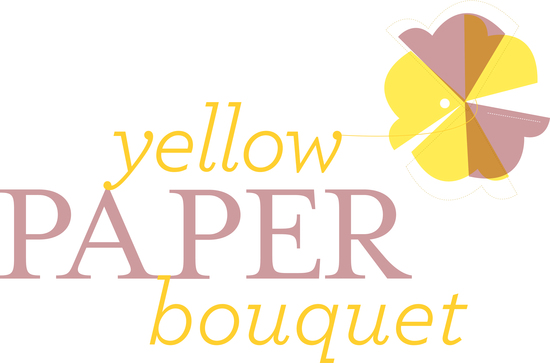 photo of Yellow Paper Bouquet
