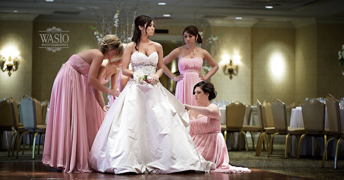bride-bridesmaids-country-club-butterfield