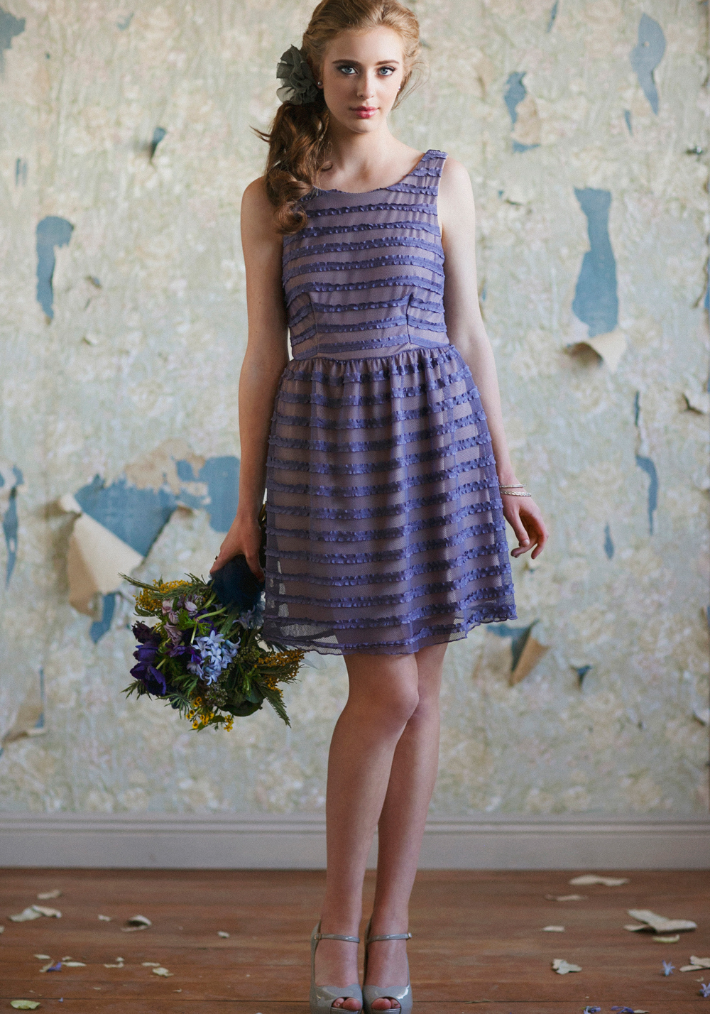 Iris Purple Dress