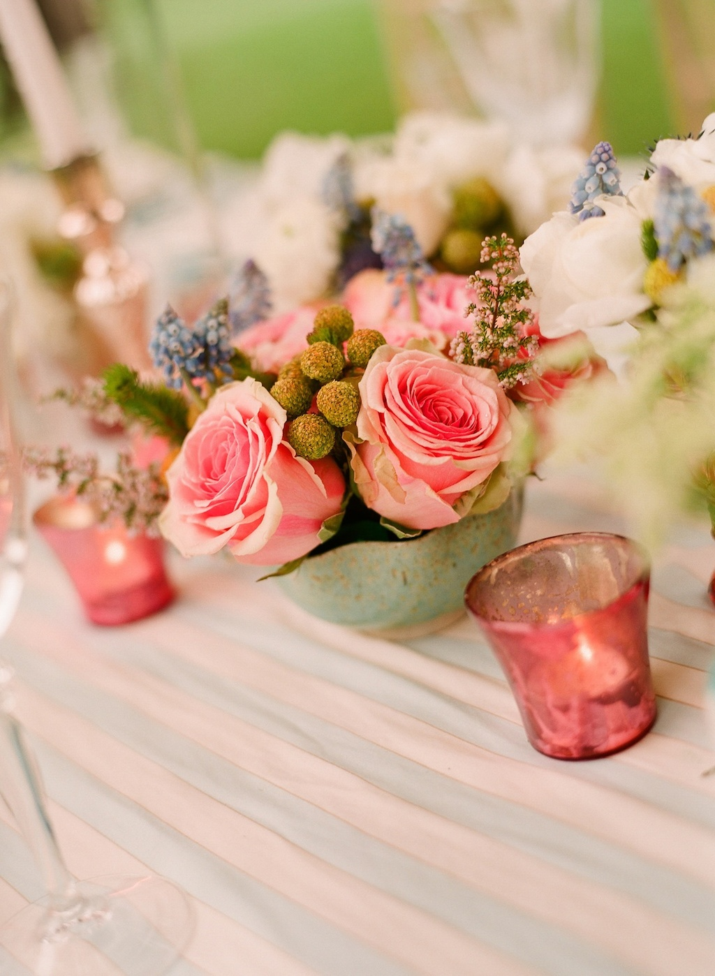 Romantic-wedding-details-outdoor-weddings-light-pink-rose-centerpieces.full