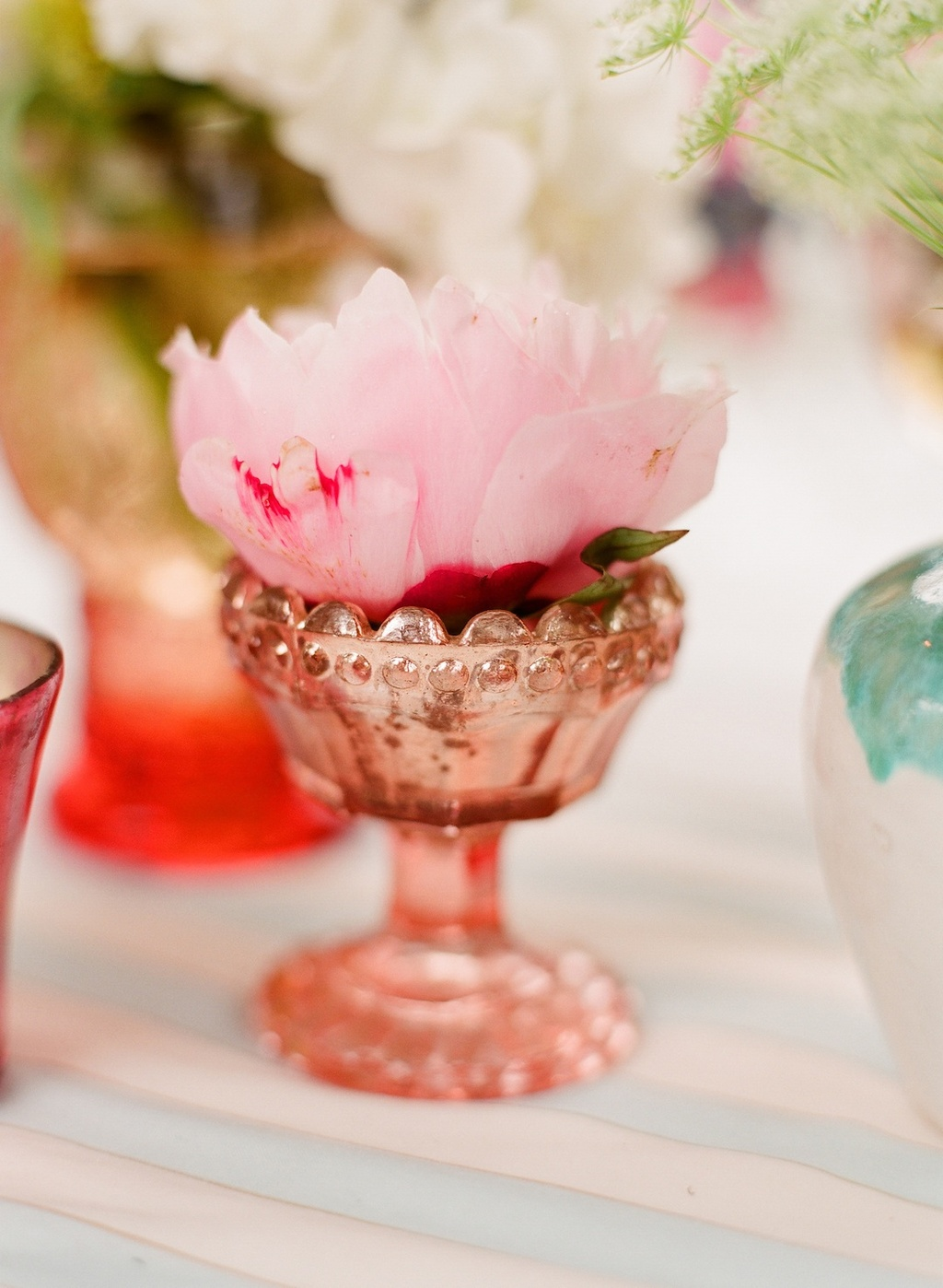 Romantic-wedding-details-outdoor-weddings-copper-vase-single-bloom-centerpiece.full