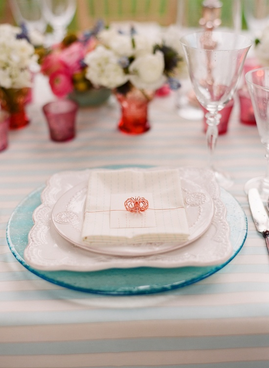 Simple, elegant place setting