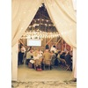 Wedding-barn-santa-barbara-chic-state-fair-jose-villa-table-setting-antique-bottles-retro-red-flowers-15.square