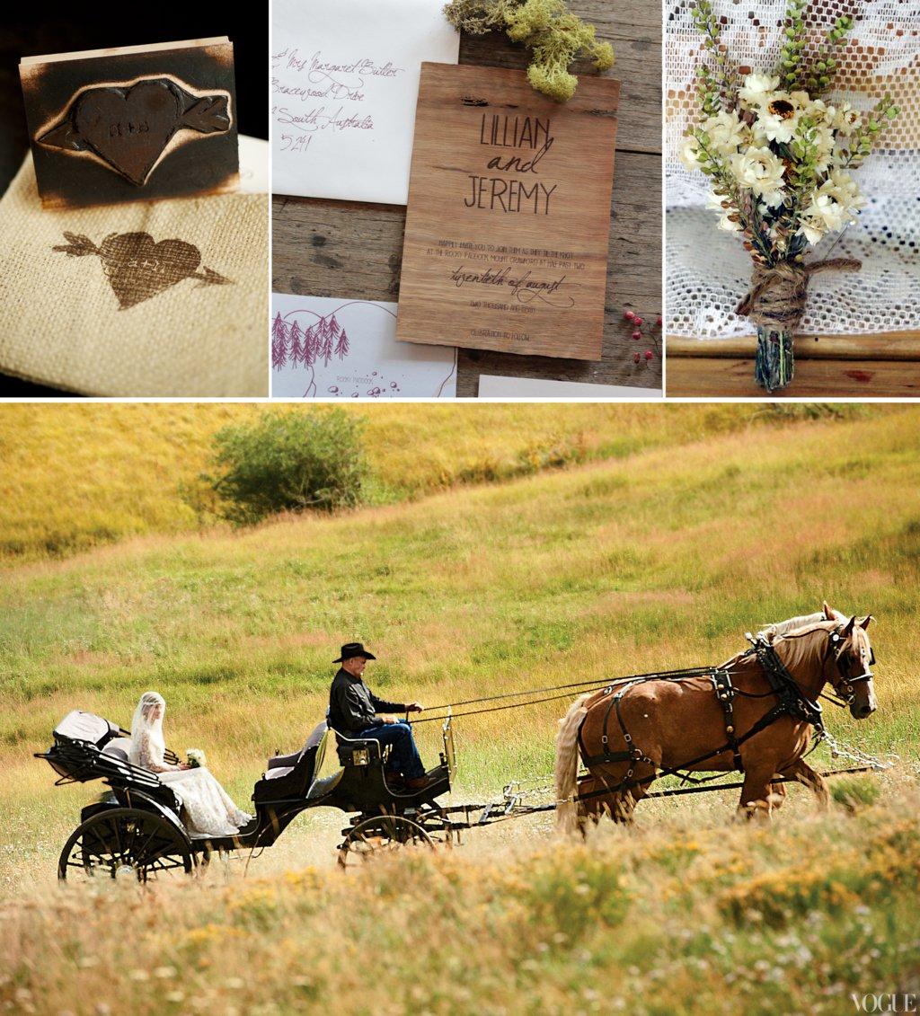 Rustic Outdoor Wedding Ideas: Rustic Ranch Wedding Inspiration Outdoor Weddings Theme