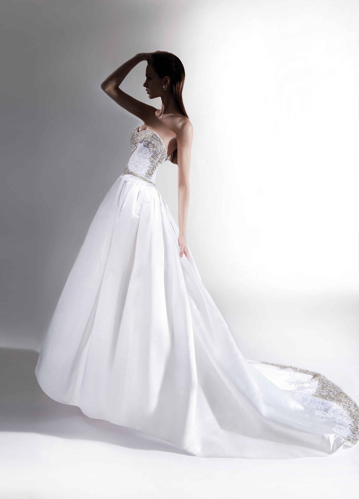 photo of Nine Divine Wedding Gowns by Victor Harper