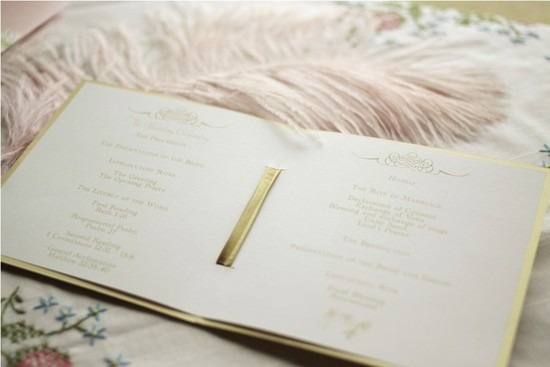 gilded wedding invitations Etsy weddings stationery vintage orchid pastel coral ivory 2
