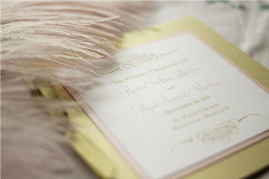 photo of Pink Orchid Invites