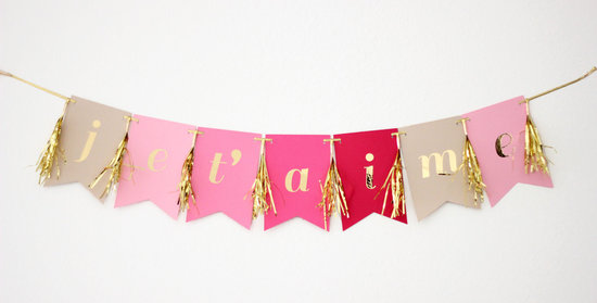 Etsy weddings handmade wedding decor stationery amour banner