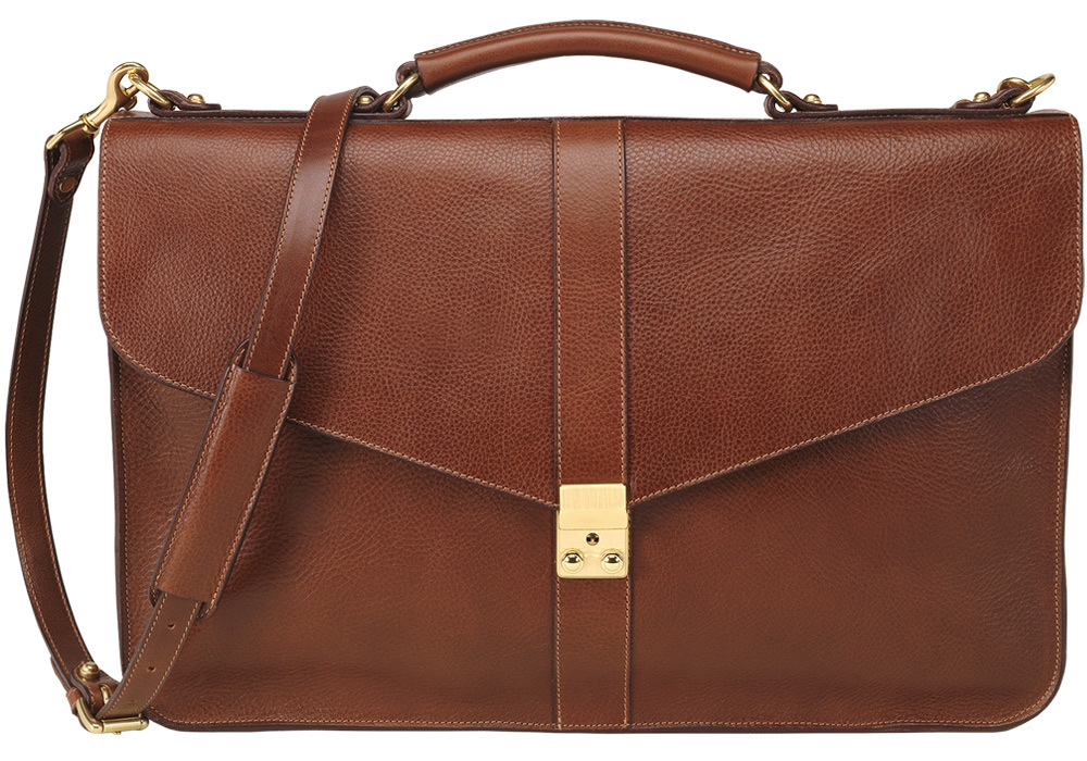leather briefcase alternative wedding gifts for grooms