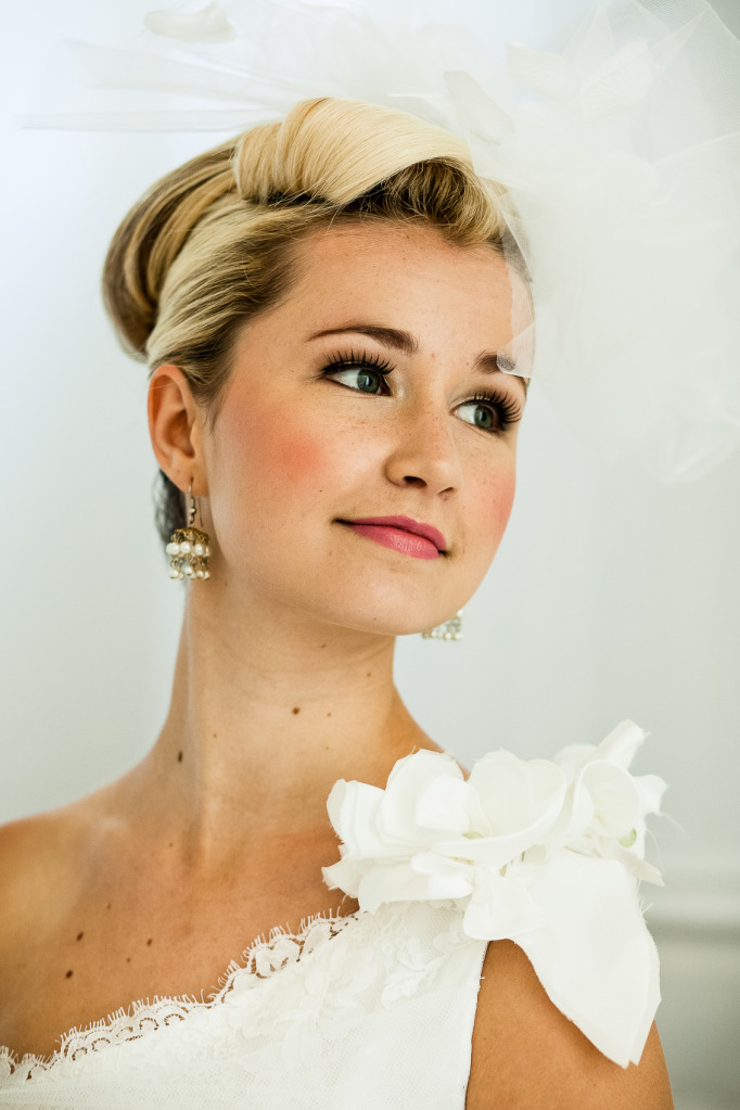 Romantic-mansion-wedding-with-vintage-inspired-bride-and-groom-elegant-updo.full