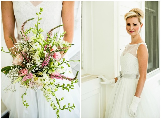 California wedding San Francisco mansion venue elegant bridal inspiration bouquet updo