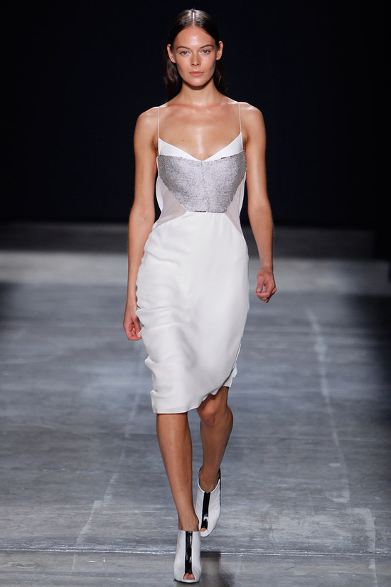 catwalk to white aisle wedding style inspiration for brides New York Fashion Week Narciso Rodriguez