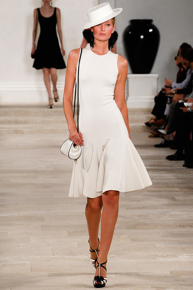 catwalk to white aisle wedding style inspiration for brides New York Fashion Week Ralph Lauren 2