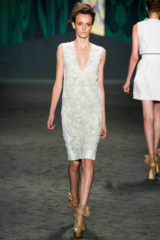 photo of Little White Wedding Dress Inspiration from New York Fashion Week