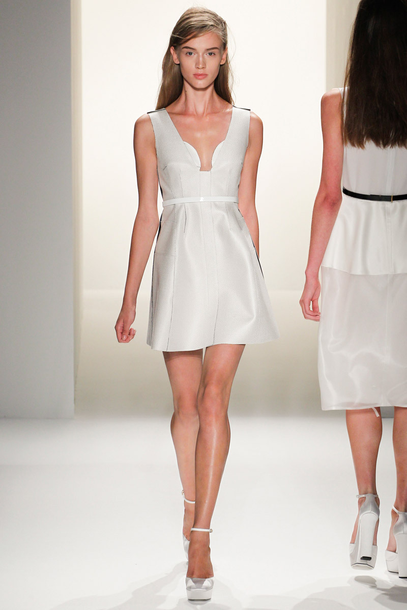 catwalk to white aisle wedding style inspiration for brides New York ...