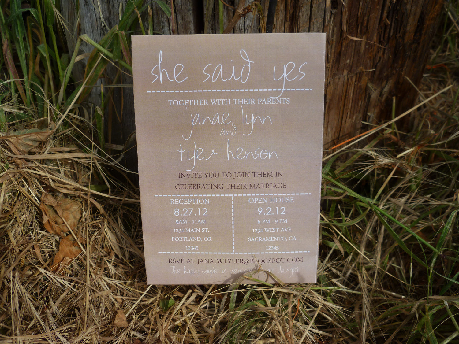 Country Style Weding Invitations 08 - Country Style Weding Invitations