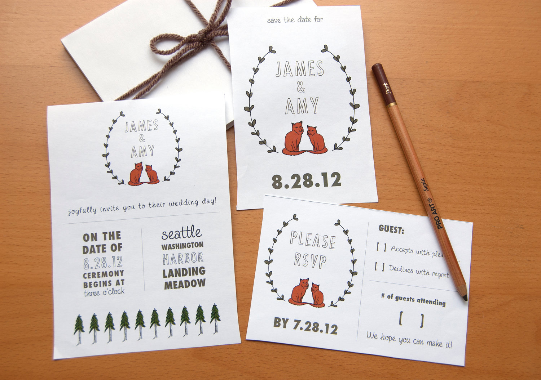Diy Wedding Invitations Ideas 027 - Diy Wedding Invitations Ideas