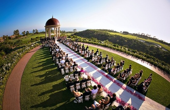 inspiring wedding ceremony aisles California weddings
