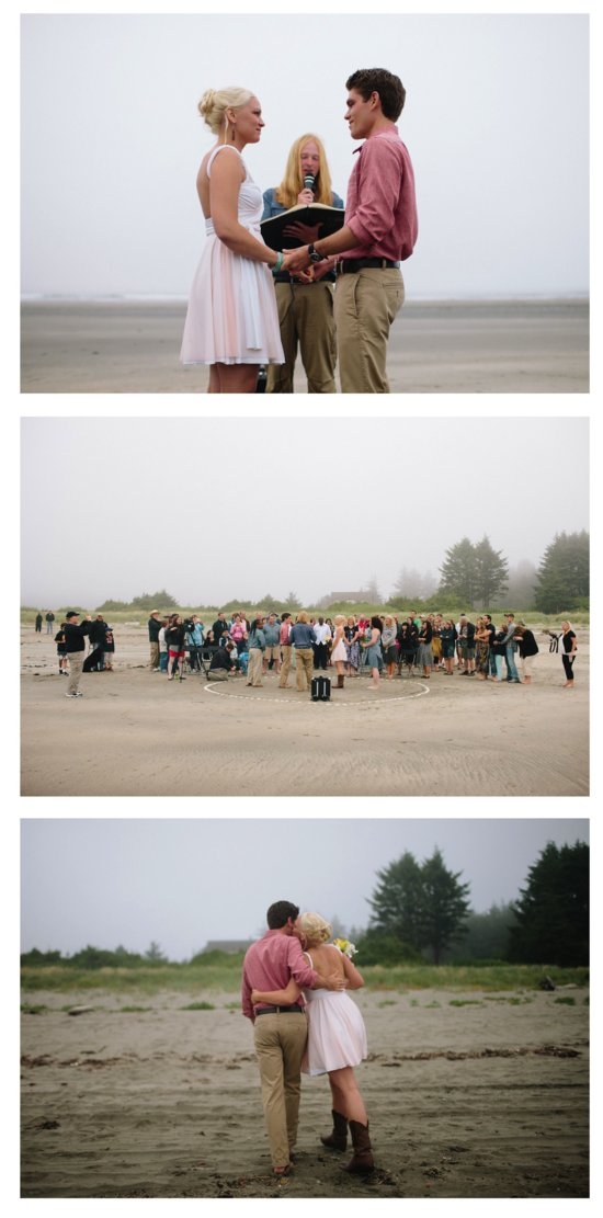 coffey wood beach real wedding linhbergh photography bride groom ceremony