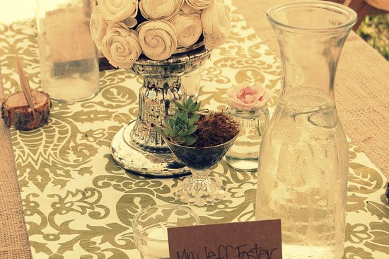 photo of Glam Up Your Wedding with Mercury Glass