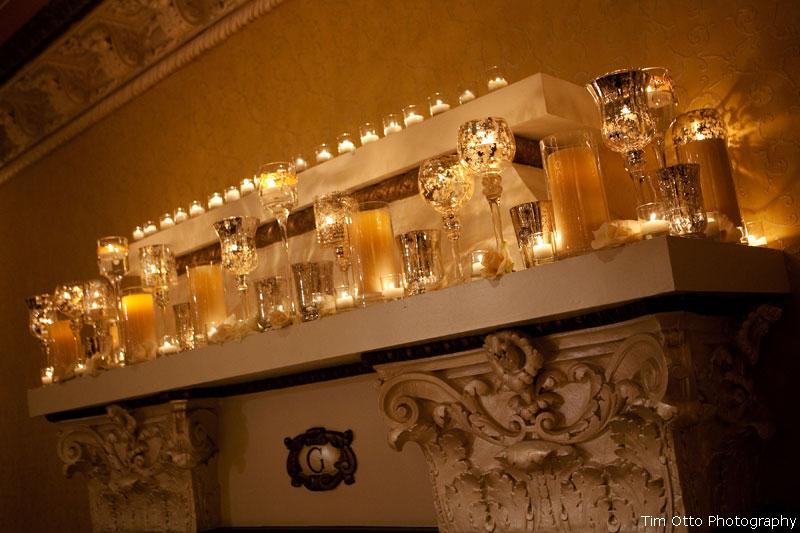 Elegant-wedding-reception-decor-idea-mercury-glass-1.full