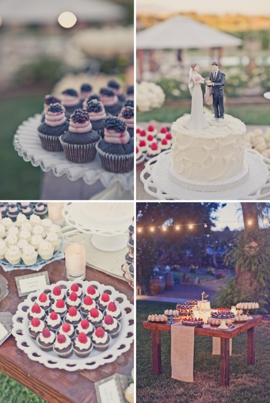 elegant outdoor weddings wedding cake alternatives dessert bar