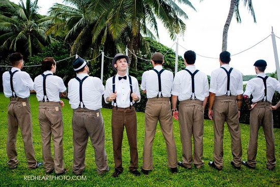 wedding fashion guide for groomsmen mix and match style 1