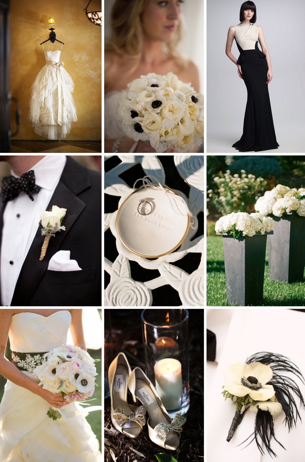 Elegant-black-tie-wedding-remix-buttercream-and-black-color-palette.full