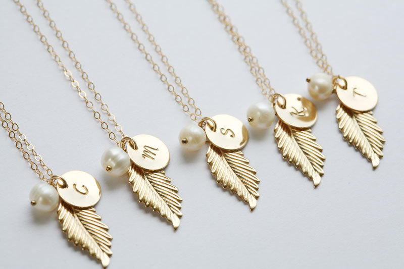 jewelry ideas the overwhelmed blog bridesmaid bride gift necklace affordable