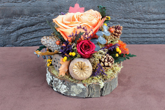handmade wedding finds for fall weddings rustic centerpiece