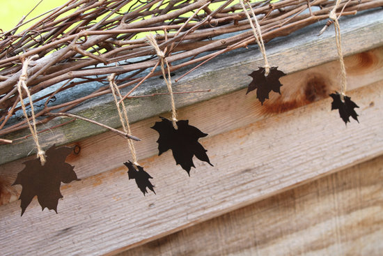 handmade wedding finds for fall weddings rustic garland
