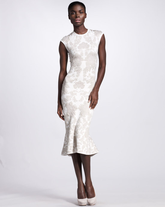 wedding splurge top 10 for fall 2012 Alexander McQueen reception dress