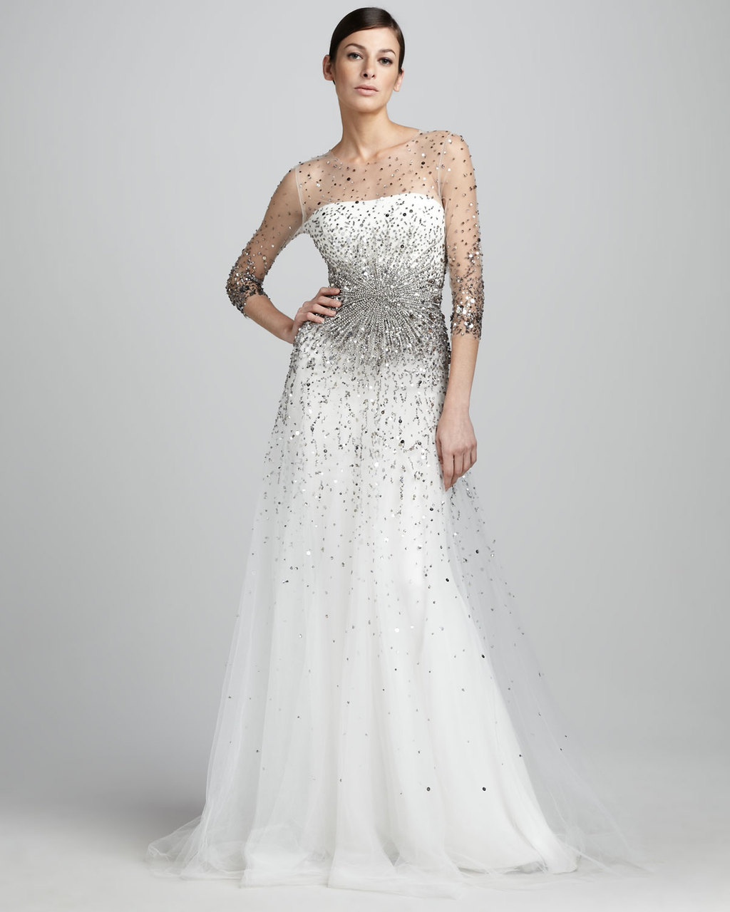 0fb5c4d0 wedding splurge top 10 for fall 2012 Marchesa bridal gown