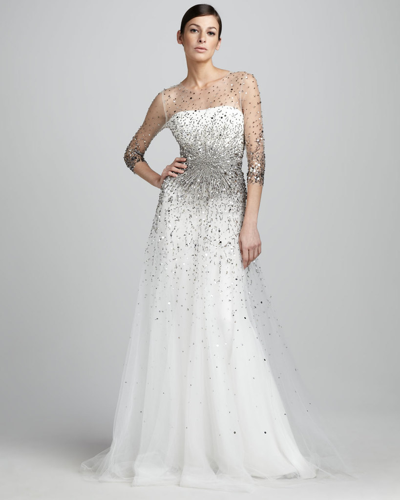 photo of wedding splurge top 10 for fall 2012 Marchesa bridal gown