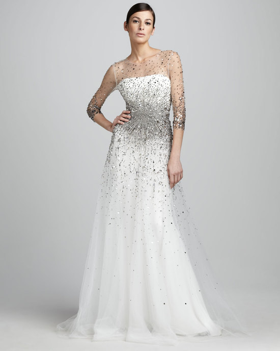 wedding splurge top 10 for fall 2012 Marchesa bridal gown