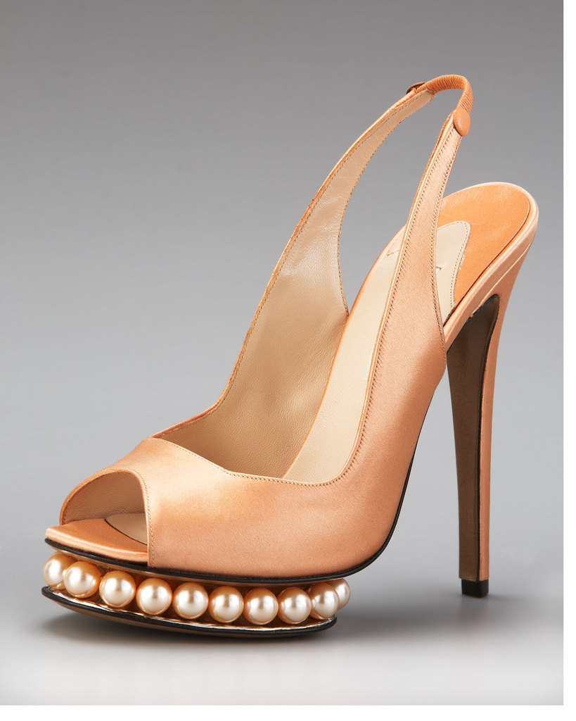 photo of wedding splurge top 10 for fall 2012 Nicholas Kirkwood slingbacks