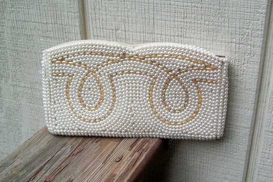 Something Old wedding accessories for brides beaded clutch 14