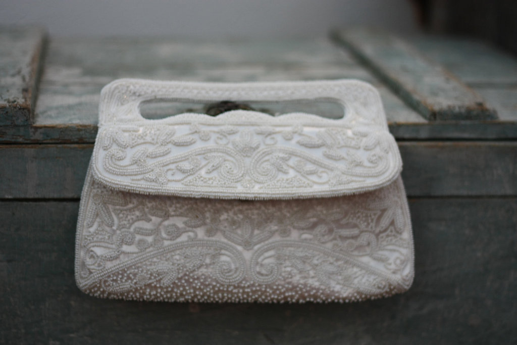 Something Old wedding accessories for brides beaded clutch 11