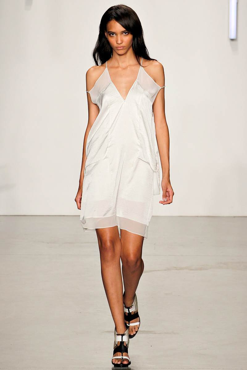 bridal style inspiration from NY fashion week Helmut Lang ss2013 LWD