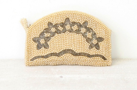 Something Old wedding accessories for brides beaded clutch 2