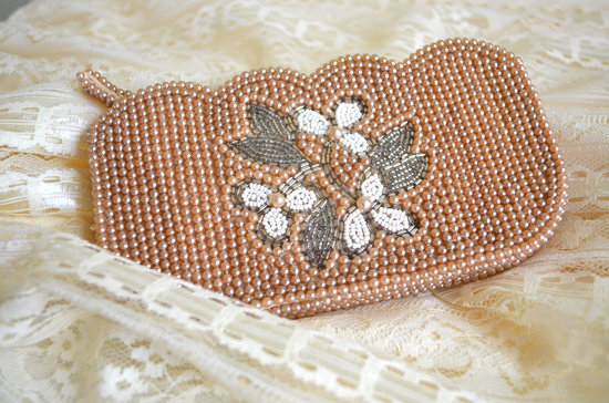 Something Old wedding accessories for brides beaded clutch 4