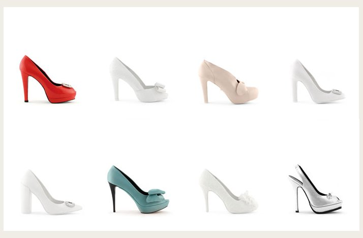 25 pairs of gorgeous wedding shoes by Rosa Clara