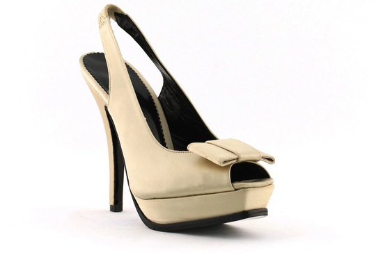 wedding shoes bridal heels by Rosa Clara 2013 beige suede