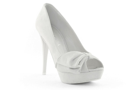 wedding shoes bridal heels by Rosa Clara 2013 vintage inspired