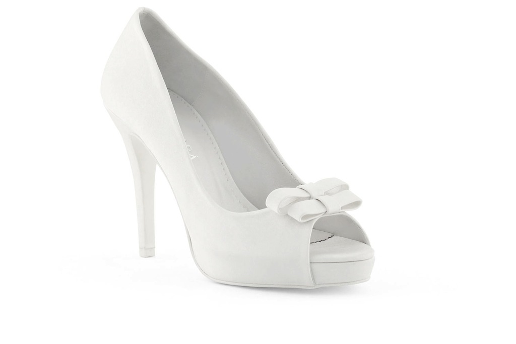 wedding shoes bridal heels by Rosa Clara 2013 double bow