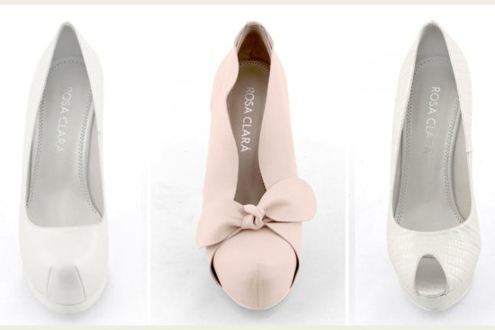 rosa clara wedding shoes blush pink ivory 2